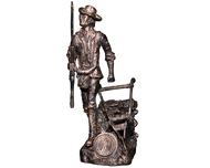 Rod Mench Minute Men Statue