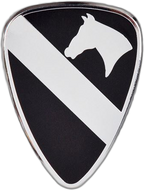 1st Cavalry Car Emblem