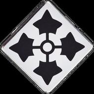 4th Infantry Division Car Emblem