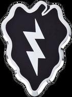 25th Infantry Division Car Emblem