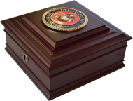 Marine Corps Desktop Keepsake Box