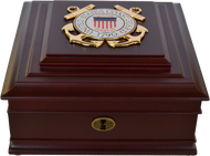 Coast Guard Desktop Keepsake Box