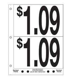 """5"""" Pre-priced $1.09"""