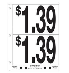"""5"""" Pre-priced $1.39"""