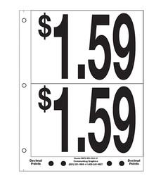 """5"""" Pre-priced $1.59"""