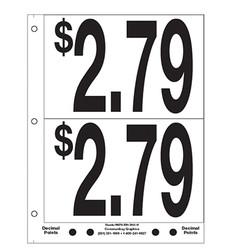 """5"""" Pre-priced $2.79"""