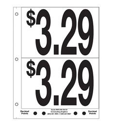 """5"""" Pre-priced $3.29"""