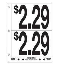 """5"""" Pre-priced $2.29"""
