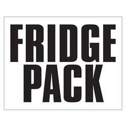 Small Banner Label - Fridge Pack