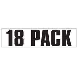 Medium Banner Label - 18 Pack