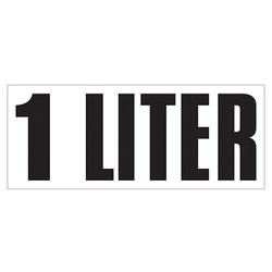 Large Banner Label - 1 Liter
