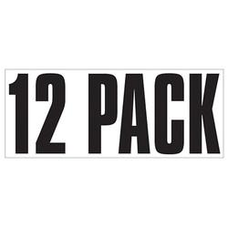 Large Banner Label - 12 Pack