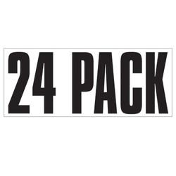 Large Banner Label - 24 Pack