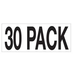 Large Banner Label - 30 Pack