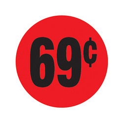 Da-Glos 69¢