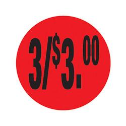Da-Glos 3/$3.00