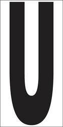 """6"""" Letter U"""