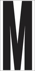 "9"" Letter M"