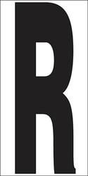 """9"""" Letter R"""
