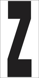 """9"""" Letter Z"""