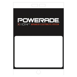 "Paper Pole Sign - 16"" x 23"" Powerade"