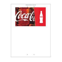 "Mini Pole Sign - 24"" x 32"" Coke"