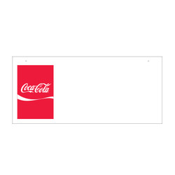 2 Sided Ceiling Sign - Coke