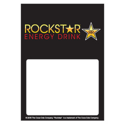 Rockstar Low Tac Cling