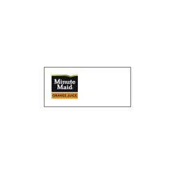 Minute Maid Orange Juice Logo Runner Tag