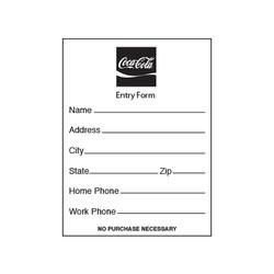Coke Entry Pads