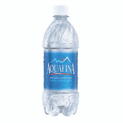 "Contour - 51"" Aquafina Bottle"