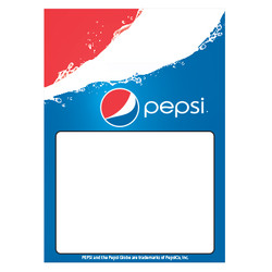 Pepsi First Low Tac Cling