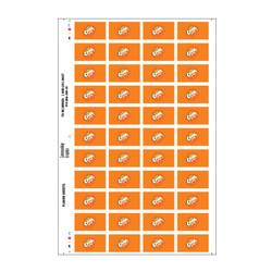 Orange Crush Flavor Sheet