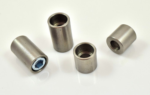 """3/8"""" stainless steel weld on couter bore bung"""