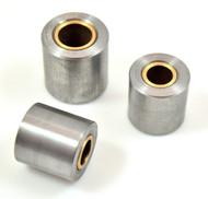 steel weld on pivot busing bung rotating mount