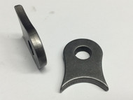 Coped weld on steel tab