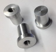 Aluminum Stepped Blind Tank Bungs