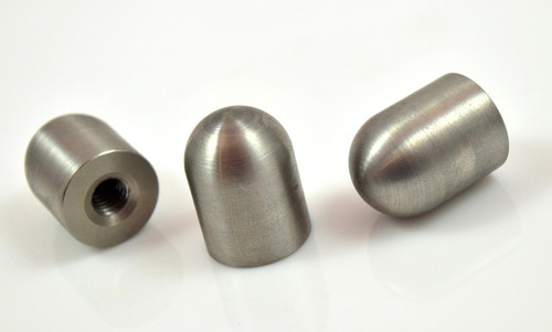 """Stainless threaded weld on bullet bung 1/4"""" 5/16"""" 3/8"""""""