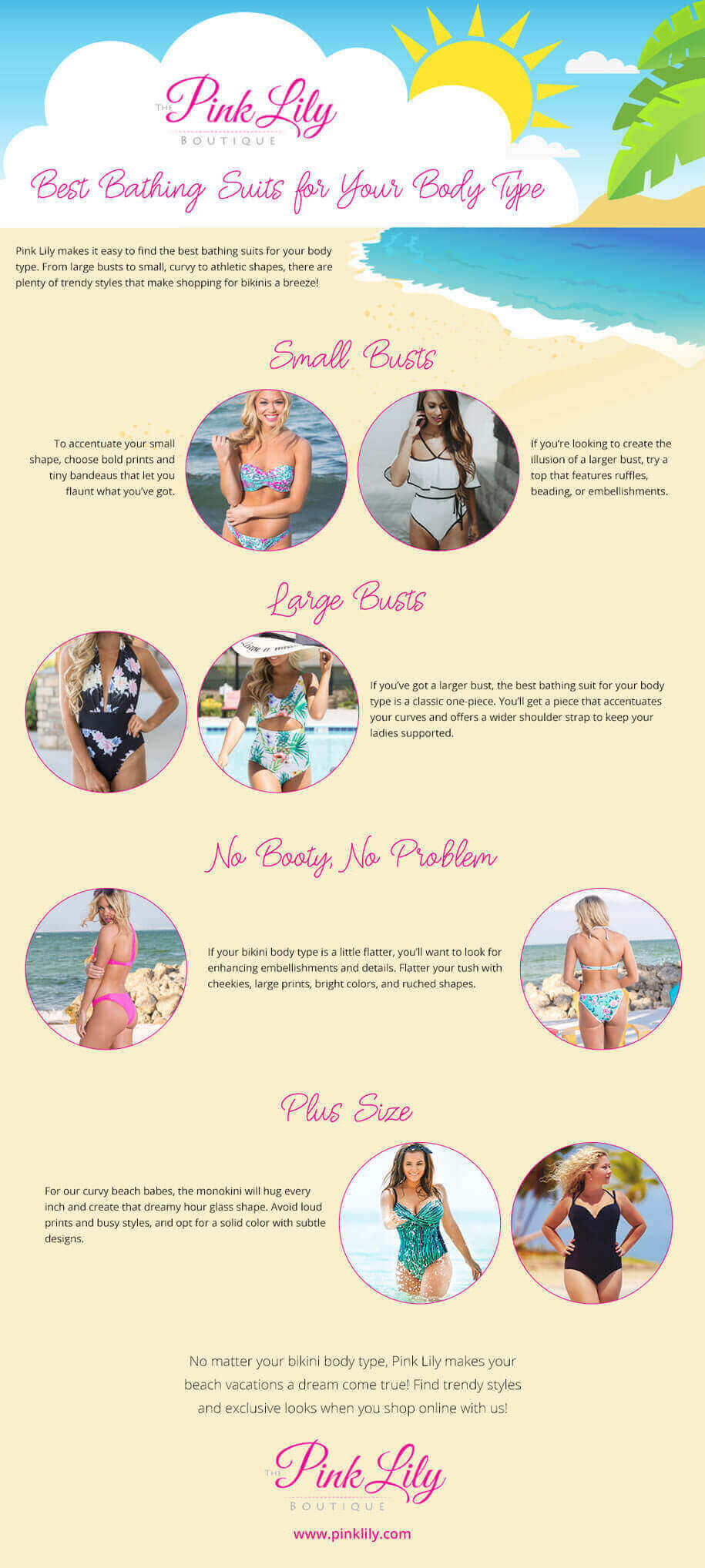 Best Bathing Suits for Your Body Type
