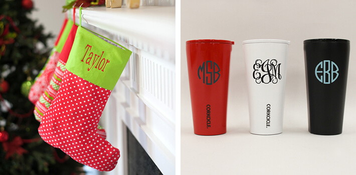 Best Holiday Gifts - Monogrammed Madness