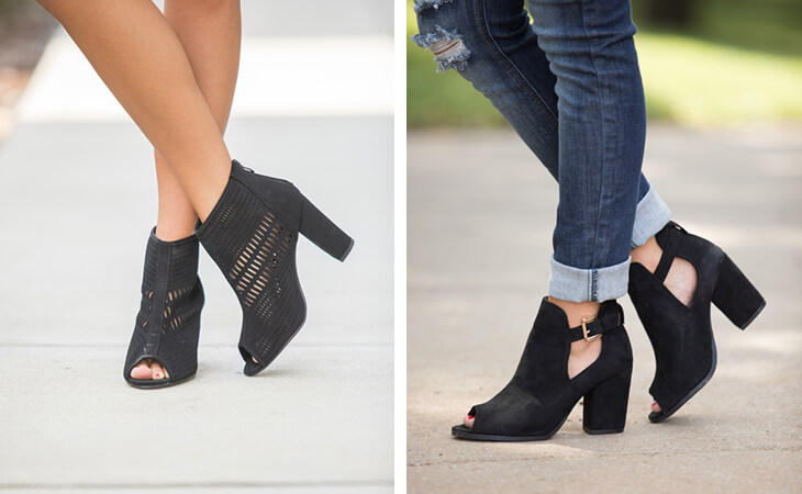 Fall Boot Styles - Peeping Out