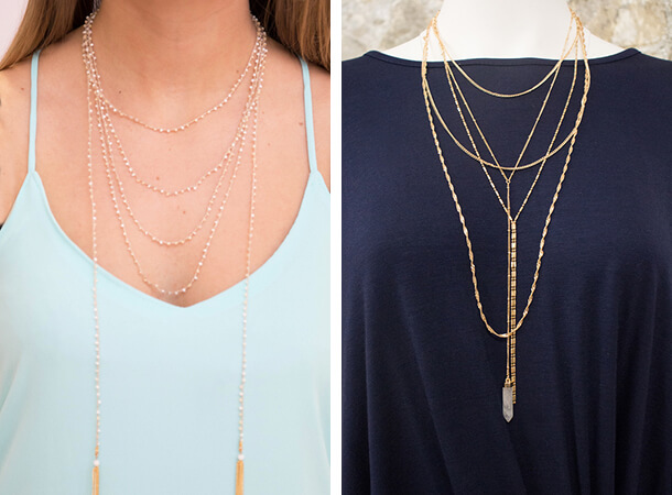 Fall Jewelry Styles - Layers On Layers