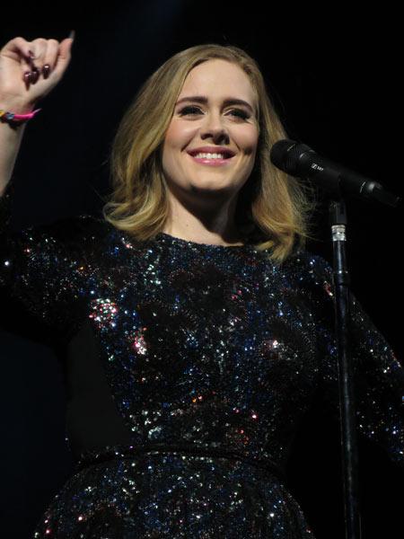 Adele in concert