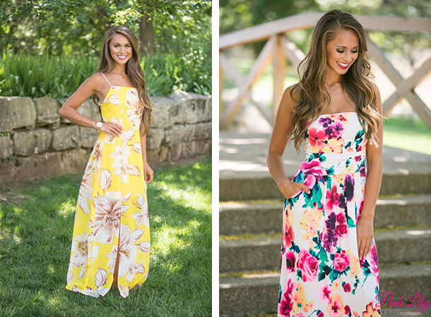 Summer Dresses - Bright Florals