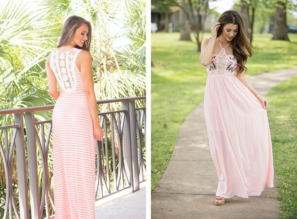 Summer Dresses - Embellished Maxis