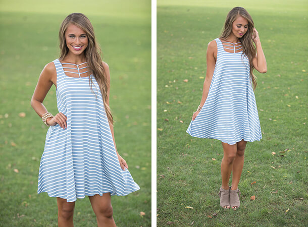 Summer Dresses - Sailor Stripes