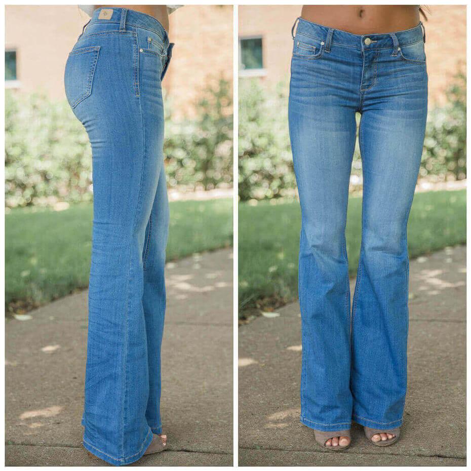 The Susie Medium Wash Flare Jeans