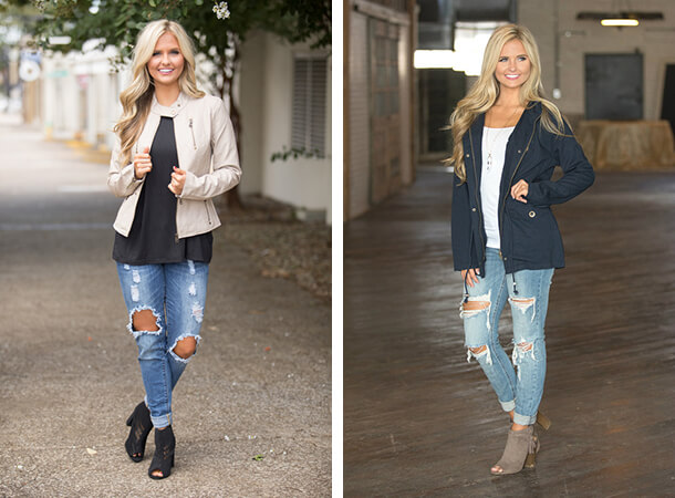 Thanksgiving Fashion - Statement Jackets