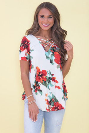 Escape To Paradise Blouse