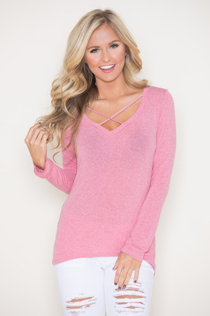 Love My Life Blouse Pink